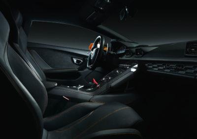 Lamborghini Huracan - Interiør
